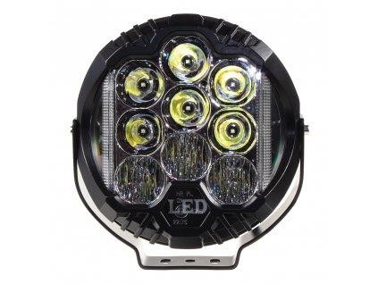 LED světlo kulaté, 70W, ø195mm, ECE R10/R112 - wld901