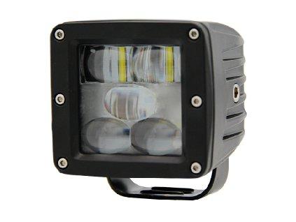 PROFI LED výstražné pruhy 10-80V 5LED modrý 82x75mm - wa-009b