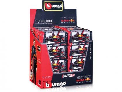 Bburago Red Bull Racing RB15 1:43 (sada 24ks) - BB18-38139