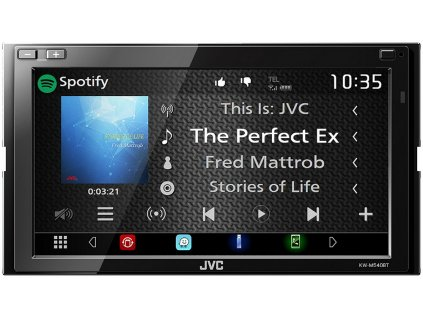 "JVC 2DIN autorádio/6,8"" displej/USB/AUX/Bluetooth - KW-M540BT"