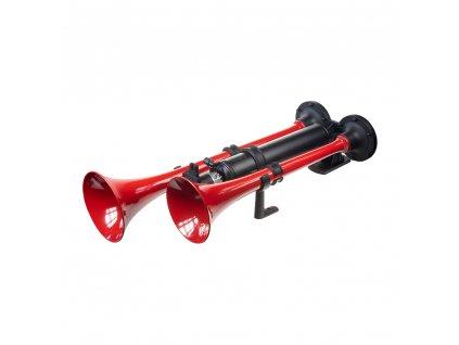 2-tónová fanfára 600mm, červená, 24V bez kompresoru - sn-030