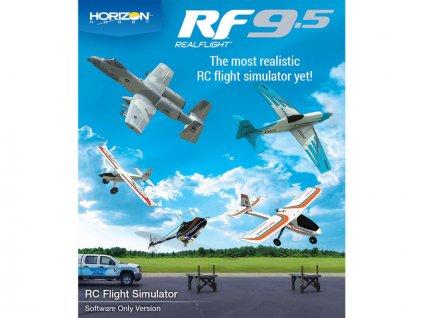 RealFlight 9.5 simulátor jen software - RFL1201