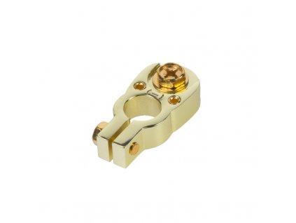 x Zlacená svorka (-) pólu baterie (2 in) 2x8,5 mm2 - g4-33
