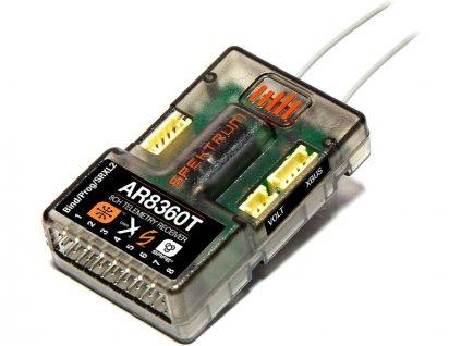 Spektrum přijímač AR8360T AS3X/SAFE s telemetrií - SPMAR8360T