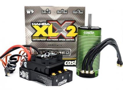 Castle motor 2028 800ot/V Senzored, reg. Mamba XLX 2 - CC-010-0167-01