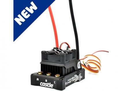 Castle motor 2028 800ot/V senzored, reg. Mamba Monster X 8S - CC-010-0165-01