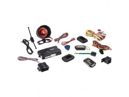 SPY 2-WAY CAR autoalarm s dálkovým startem - spy23