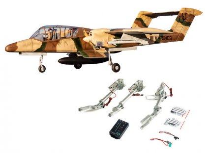 Hangar 9 OV-10 Bronco 30cc ARF + zatahovací podvozek - HAN4670CR