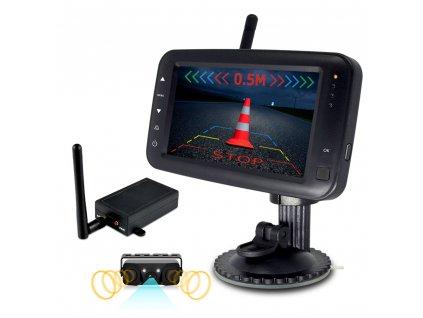 """SET bezdrátový digitální kamerový systém s monitorem 4,3"""" / Transmitter + kamera s 2 senzory - cw3-Pdset431"""