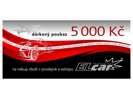 poukaz 5000