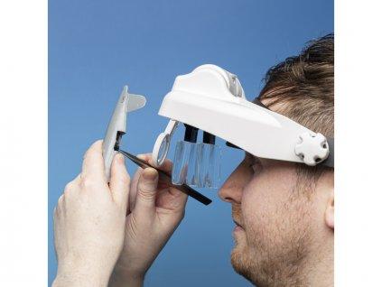 Lightcraft zvětšovací brýle Professional s LED osvětlením (set) - SH-LC1769USB