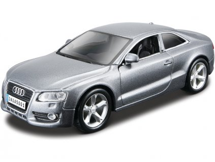 Bburago Kit Audi A5 1:32 šedá metalíza - BB18-45118