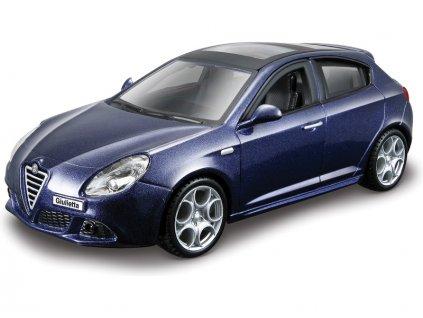 Bburago Kit Alfa Romeo Giulietta 1:32 modrá metalí - BB18-45130
