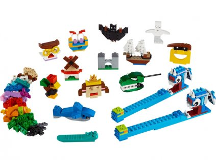 LEGO Classic - Kostky a světla - LEGO11009