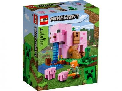 LEGO Minecraft - Prasečí dům - LEGO21170