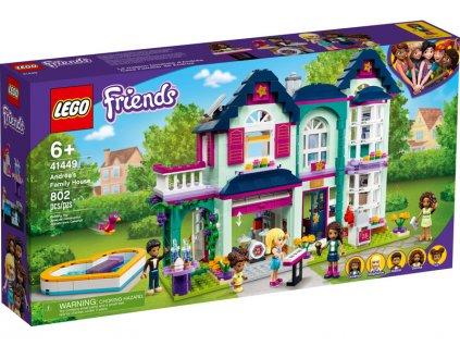 LEGO Friends - Andrea a její rodinný dům - LEGO41449