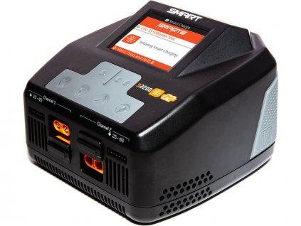 Spektrum Smart G2 nabíječ S2200 2x200W AC - SPMXC2010I