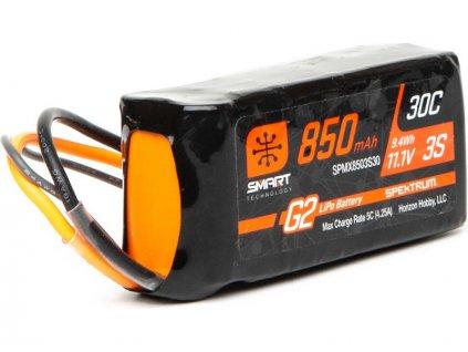 Spektrum Smart G2 LiPo 11.1V 850mAh 30C IC2 - SPMX8503S30