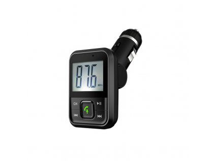Bluetooth/MP3/FM modulátor bezdrátový s USB/SD/AUX portem do CL s dálkovým ovladačem - 80560