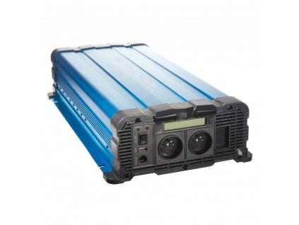 Sinusový měnič napětí z 12/230V, 4000W / displej - 35psw4012DD