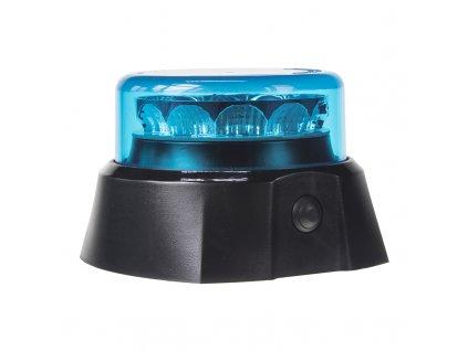x  PROFI AKU LED maják 12x3W modrý 125x90mm, ECE R65 - 911-C13MGblu