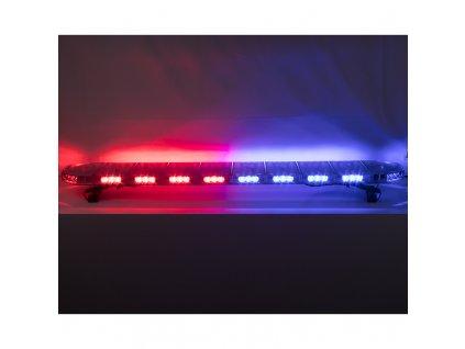 LED rampa 1200mm, modrá/červená, 12-24V, ECE R65 - sre911-air48br