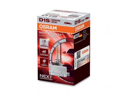 OSRAM D1S 12/24V 35 PK32d-2 NBR LASER (1ks) - OS66140XNL