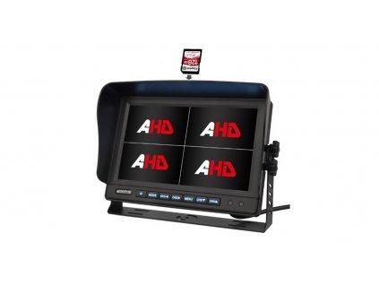 "AHD 960,720P monitor 10,1"" s kvadrátorem a DVR - sv1019qAHDDVR"