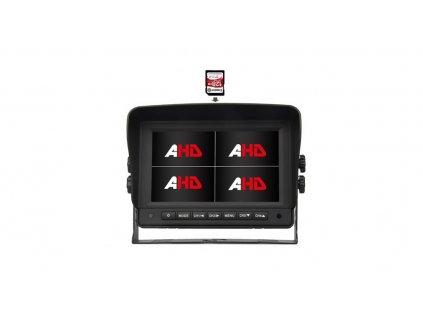 "AHD 960,720P monitor 7"" s kvadrátorem a DVR - sv76qAHDDVR"