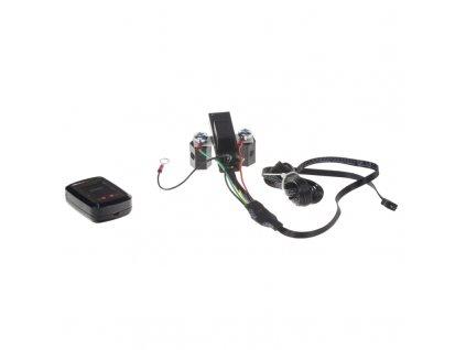 Automatické relé pro dobíjení druhé baterie 12V/250A + voltmetr - pc4-32
