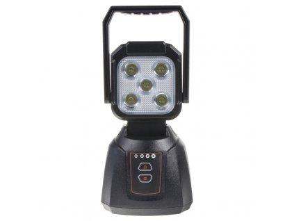 AKU LED světlo s magnetem, bílá/oranžová, 5x3W, 200x110mm - wl-li17dual