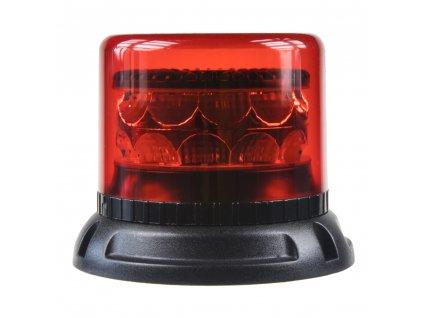 PROFI LED maják 12-24V 24x3W červený 133x86mm, ECE R10 - 911-C24fred