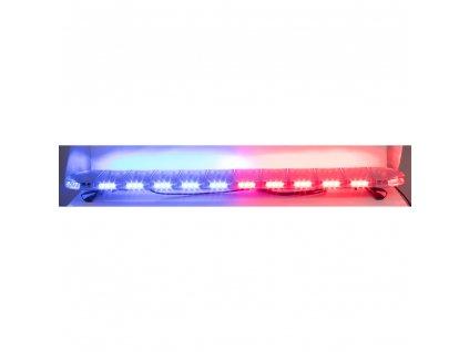 LED rampa 1442mm, modrá/červená, 12-24V, ECE R65 - sre911-air56br