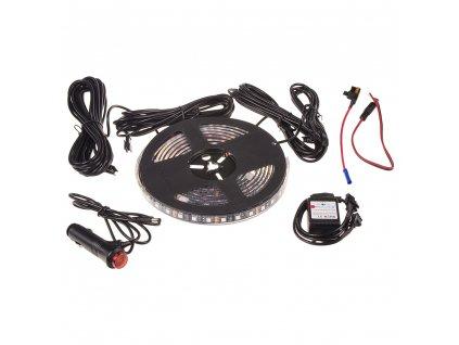 LED podsvětlení vnitřní/vnější RGB 12V, bluetooth, pásek - 95RGB-SET06