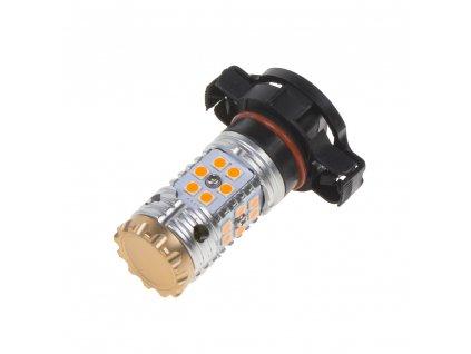 LED PSY24W oranžová, CAN-BUS, 12-24V, 24LED/3030SMD - 95CBPSY24Wo