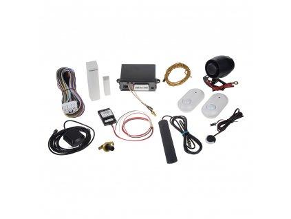 Sada GSM/GPS autoalarmu CA-2103, CA-550, 2x JA-185P a JA-150M - ja-ca2103setVAN