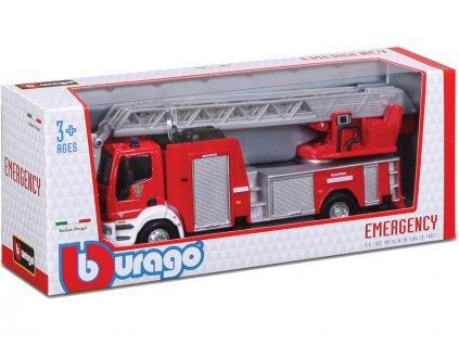Bburago hasičská auta (sada 18ks) - BB18-32000