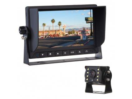 "AHD kamerový set s monitorem 7"", kamerou 140° - svs701AHDset140"