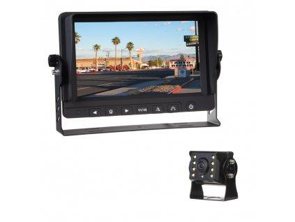 "AHD kamerový set s monitorem 9"", kamerou 140° - svs901AHDset140"