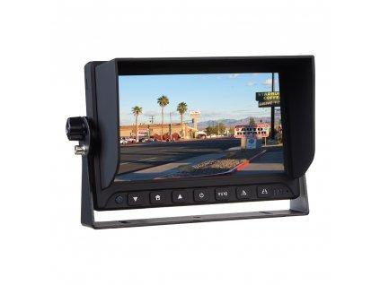 "AHD monitor 7"" s 2x4PIN vstupy - svs701AHD"