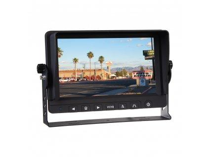 "AHD monitor 9"" s 2x4PIN vstupy - svs901AHD"