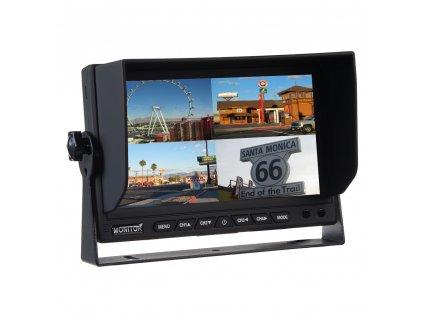 "AHD monitor 7"" s kvadrátorem a s 4x4PIN vstupy - sv702qAHD"