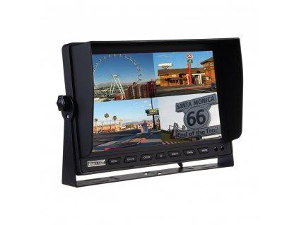 "AHD monitor 10,1"" s kvadrátorem a s 4x4PIN vstupy - sv1012qAHD"