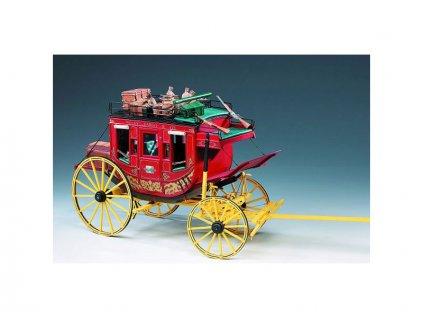 AMATI Poštovní kočár Wells Fargo 1:10 kit - KR-25068