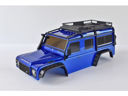 Traxxas karosérie Land Rover Defender modrá: TRX-4 TRA8011BLU