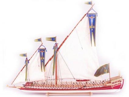 Dušek La Real Galeere 1571 1:72 kit - KR-21215
