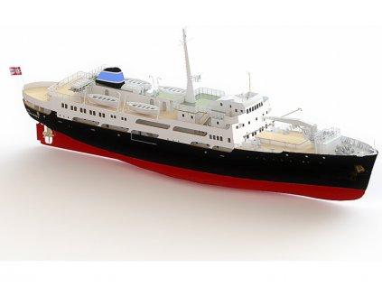 Modell-Tec MS Finnmarken 1:60 kit - KR-24525