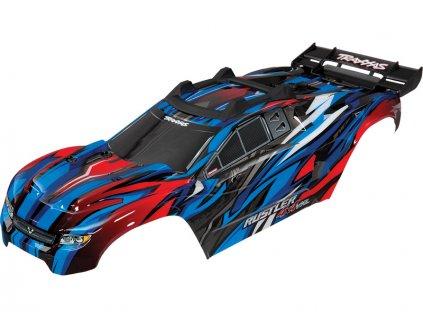 Traxxas karosérie modrá: Rustler 4x4 VXL - TRA6717A