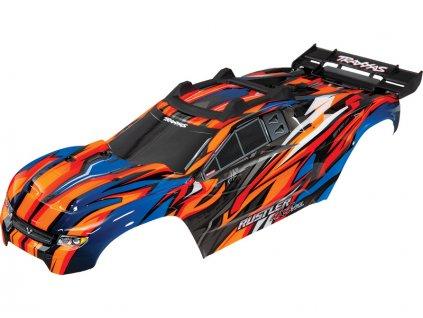Traxxas karosérie oranžová: Rustler 4x4 VXL - TRA6717T