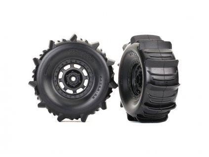 "Traxxas kolo 3.2/2.2"", disk Desert Racer, pneu Paddle (pár) - TRA8475"
